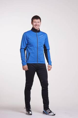 Nordski Premium мужской лыжный костюм синий-черный