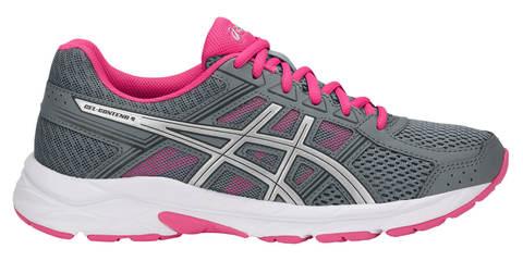 Asics GEL-Contend 4 женские беговые кроссовки серые-розовые