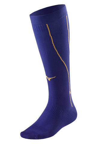 Компрессионные гольфы Mizuno Compression фиолетовые