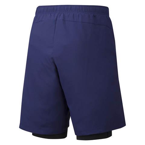 Mizuno Impulse 7.5 2 In 1 Short шорты для бега мужские темно-синие