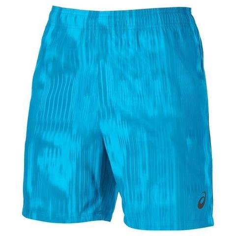 Шорты мужские Asics FuzeX 7IN Print синие