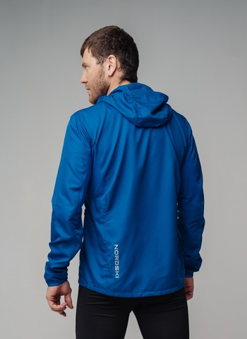 Nordski Run Premium костюм для бега мужской Vasilek-Black