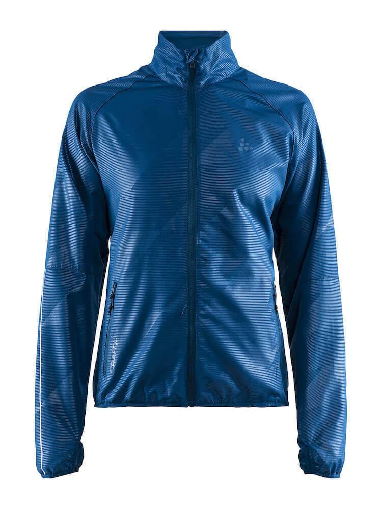 Craft Eaze куртка ветровка для бега женская синяя - 1