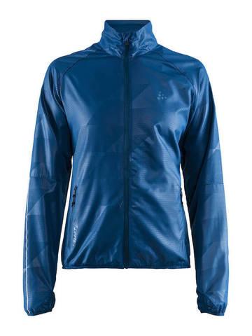 Craft Eaze куртка ветровка для бега женская синяя