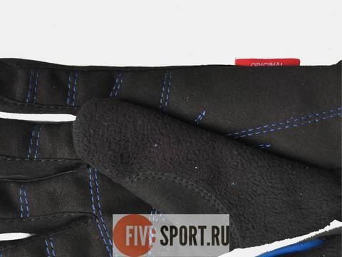 Nordski Jr Motion WS перчатки детские black-blue