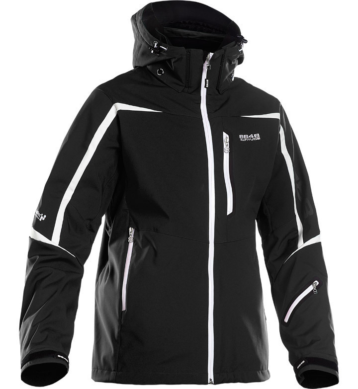 Горнолыжная куртка 8848 Altitude Savage Ski Softshell Black - 1