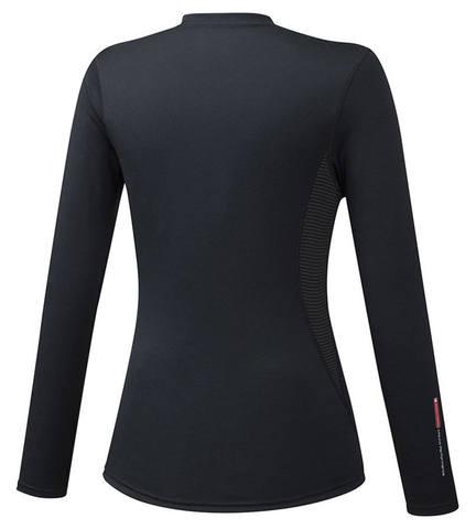 Mizuno Mid Weight Crew термобелье рубашка женская черная
