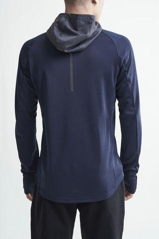 Craft Charge беговая куртка мужская темно-синяя