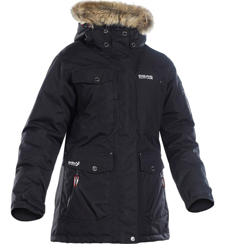 Пуховая куртка 8848 Altitude Spirit Parka черная