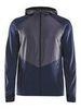 Craft Charge беговая куртка мужская темно-синяя - 1