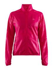 Craft Eaze куртка ветровка для бега женская розовая