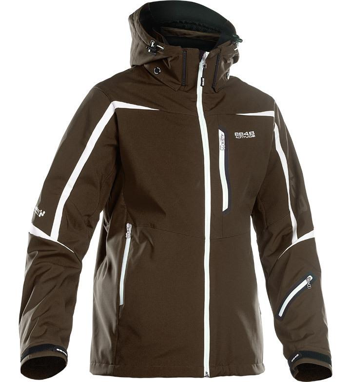 Горнолыжная куртка 8848 Altitude Savage Ski Softshell коричневая