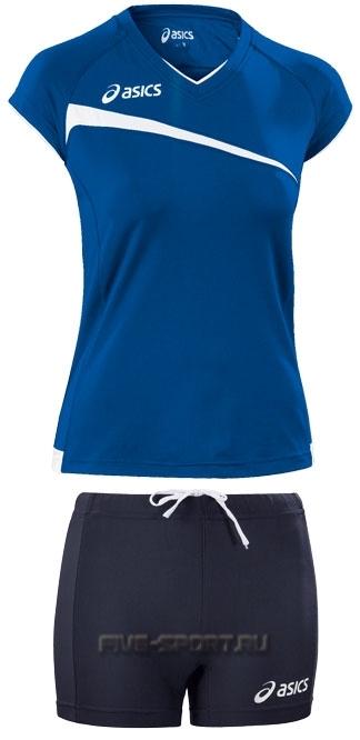 Asics Set Play Off  форма волейбольная женская blue