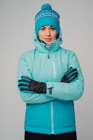 Nordski Montana утепленная куртка женская sky-blue