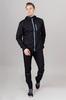 Nordski Run костюм для бега мужской black-blue - 1