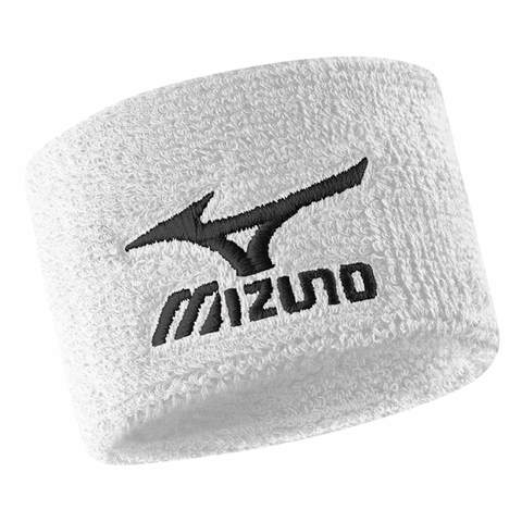 """Напульсники Mizuno 2"""" Wristband белые"""