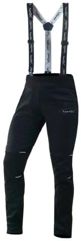 Nordski Premium детские лыжные штаны-самосбросы черные