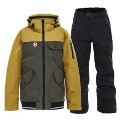 Горнолыжный костюм детский 8848 Altitude 2 Tone Inca mustard-black