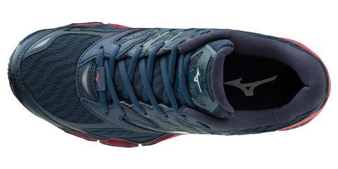 Mizuno Wave Prophecy 8 кроссовки для бега женские синие-розовые (распродажа)