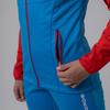 Nordski Premium разминочный лыжный костюм женский blue-red - 3