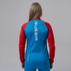 Nordski Premium разминочный лыжный костюм женский blue-red - 2