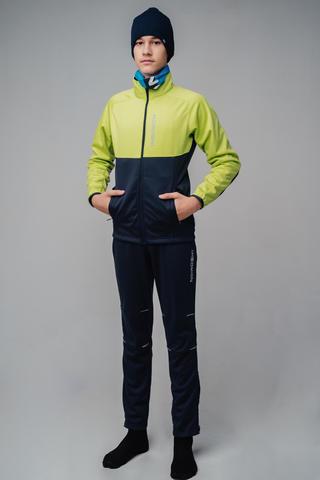 Nordski Jr Premium лыжный костюм детский green-blueberry