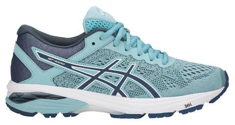 Беговые кроссовки женские Asics GT-1000 6 голубые
