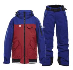 Горнолыжный костюм детский 8848 Altitude 2 Tone Inca blue