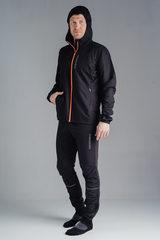 Nordski Run костюм для бега мужской black-orange