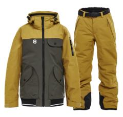 Горнолыжный костюм детский 8848 Altitude 2 Tone Inca mustard
