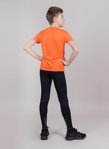 Nordski Jr Run футболка для бега детская orange