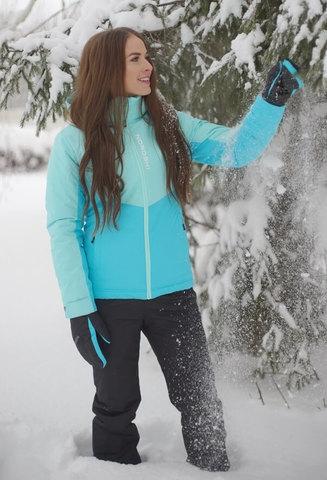 Nordski Montana Premium зимний лыжный костюм женский sky-blue