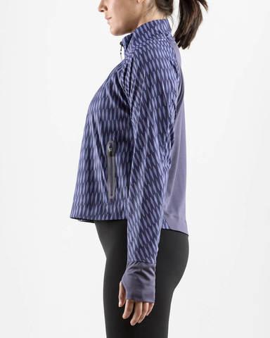 Craft Breakaway куртка для бега женская синяя