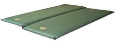 Alexika Double Comfort самонадувающийся коврик pine green