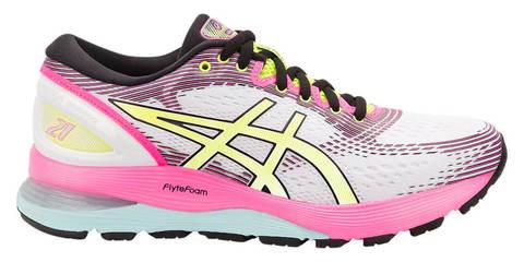 Asics Gel Nimbus 21 Sp кроссовки для бега женские белые-розовые
