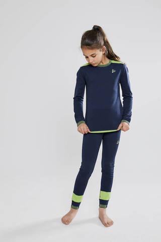 Craft Fuseknit Comfort детское термобелье рубашка blue
