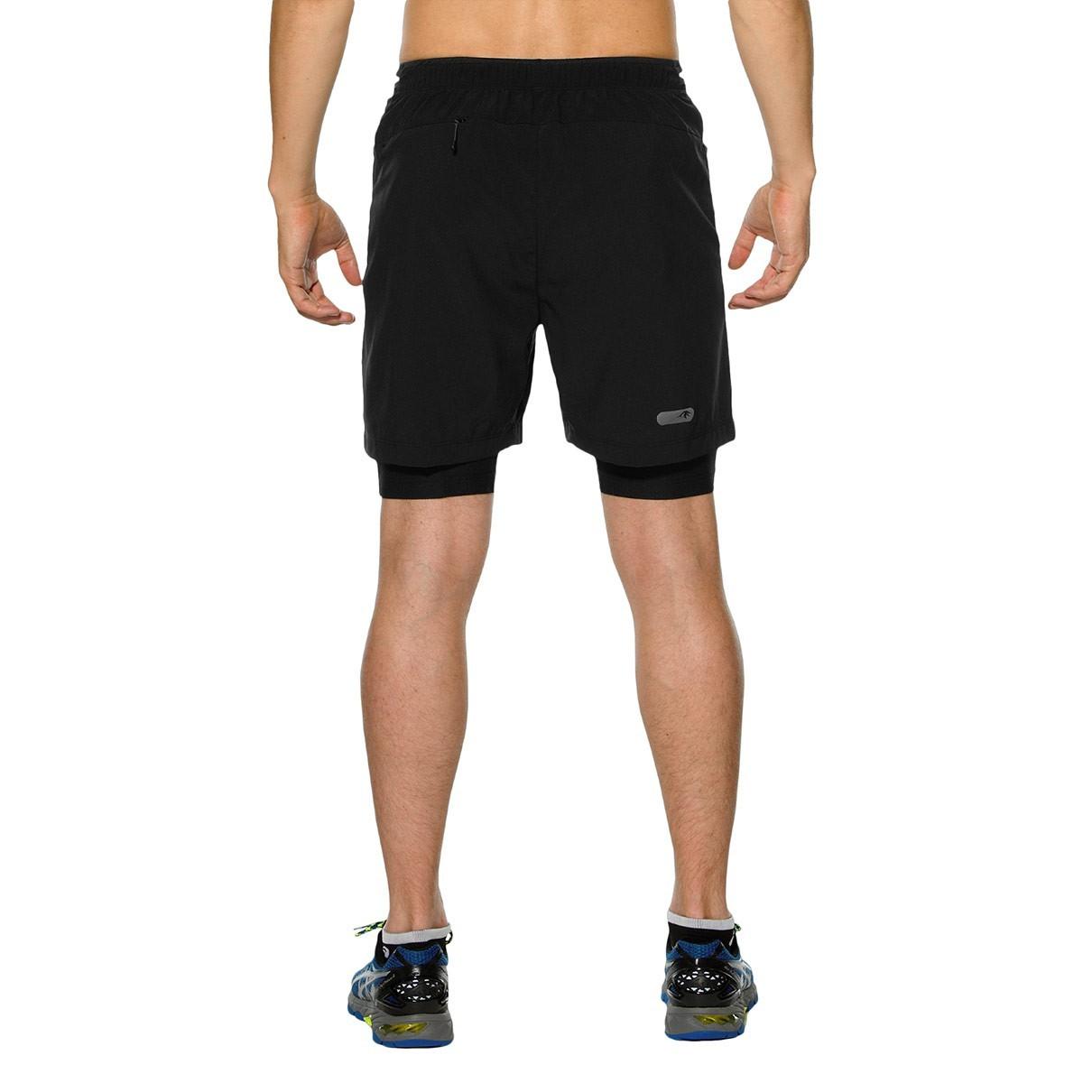 Asics M'S FujiTrail 2in1 Short Мужские шорты-боксеры - 3
