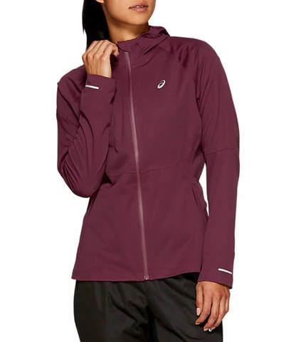 Asics Accelerate Jacket куртка для бега женская фиолетовая