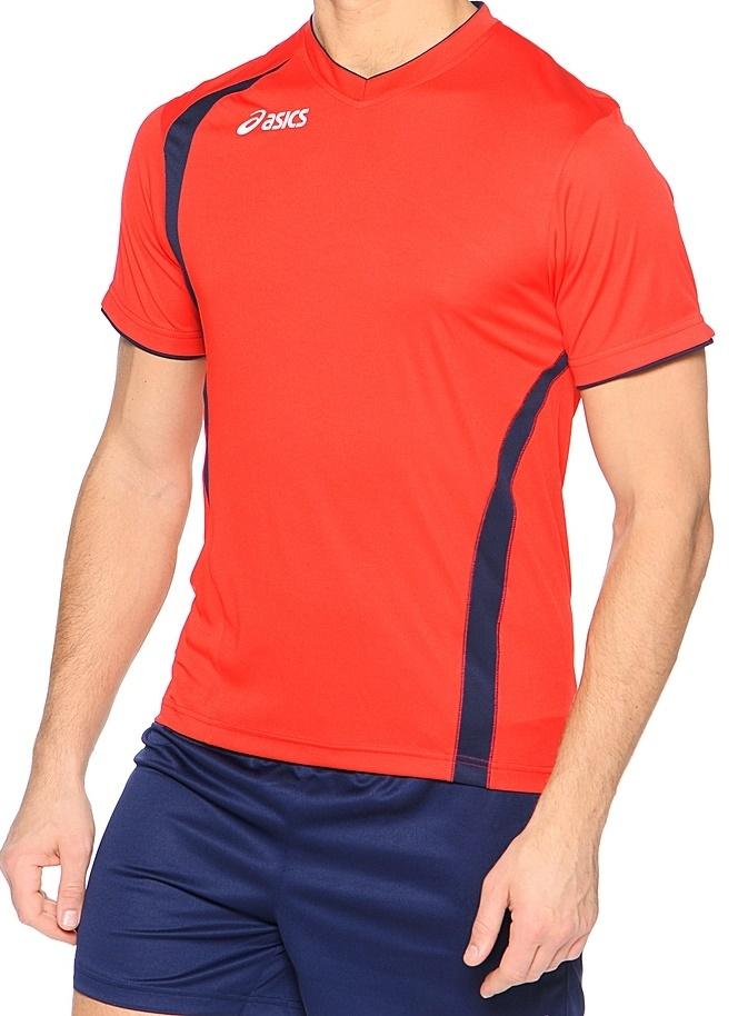 Asics Set End Man форма волейбольная мужская red - 2