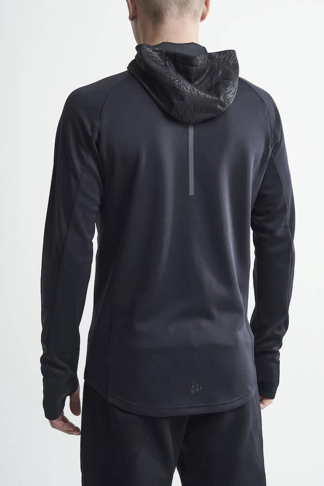 Craft Charge беговая куртка мужская черная - 3