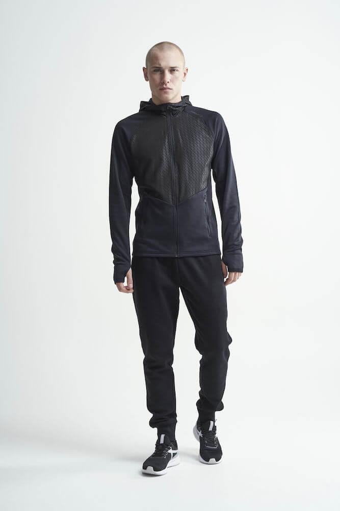 Craft Charge беговая куртка мужская черная - 5