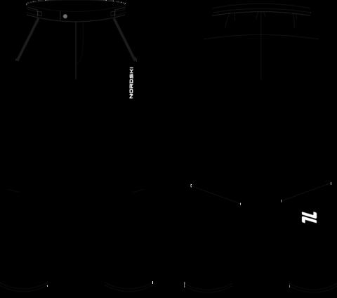 Nordski Light утепленные ветрозащитные брюки мужские