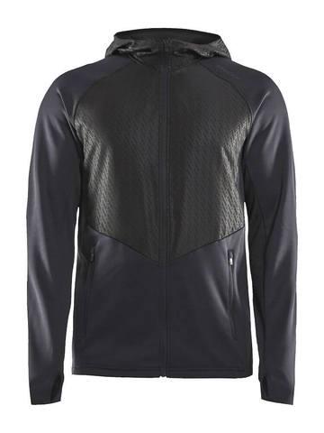 Craft Charge беговая куртка мужская черная