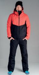 Nordski Montana прогулочный костюм мужской красный-черный