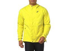 Asics Accelerate Jacket куртка для бега мужская желтая
