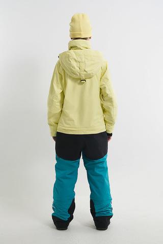 Cool Zone CRUSH комбинезон женский для сноуборда лимонный-волна