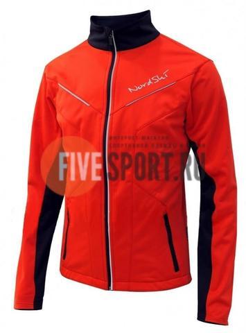 Nordski Premium мужская лыжная куртка красная