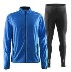 Craft Mind Run мужской костюм для бега синий