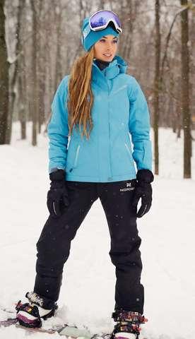 Nordski Extreme горнолыжный костюм женский blue