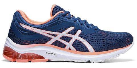 Asics Gel Pulse 11 кроссовки для бега женские синие-коралловые